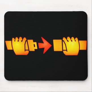 Fasten Seat Belt Sign Mouse Pad