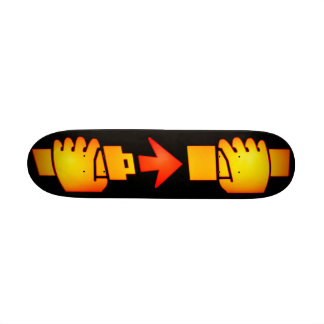 Fasten Seat Belt Sign Skateboard Mini