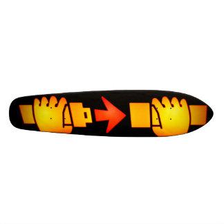 Fasten Seat Belt Sign Skateboard Oldschool