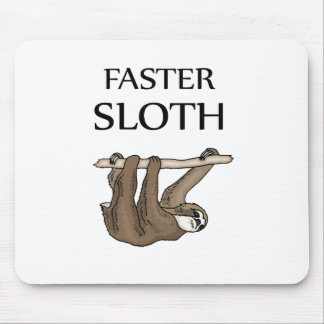 faster sloth mouse pad