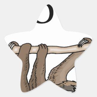faster sloth star sticker