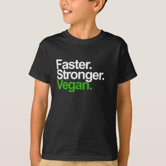 Faster. Stronger. Vegan. Tees