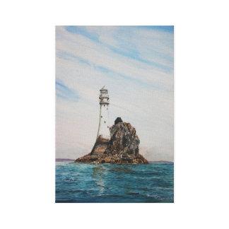 Fastnet Lighthouse, Cork , Ireland Canvas Print