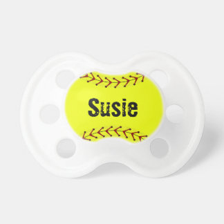 Fastpitch Softball Baby Pacifier