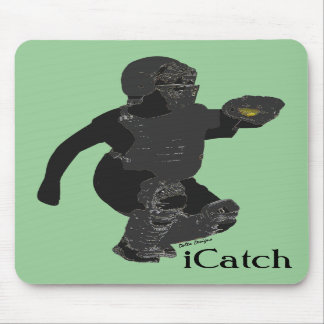 Fastpitch Softball Catcher's Mousepad