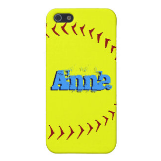 Fastpitch Softball iPhone 5 Cases