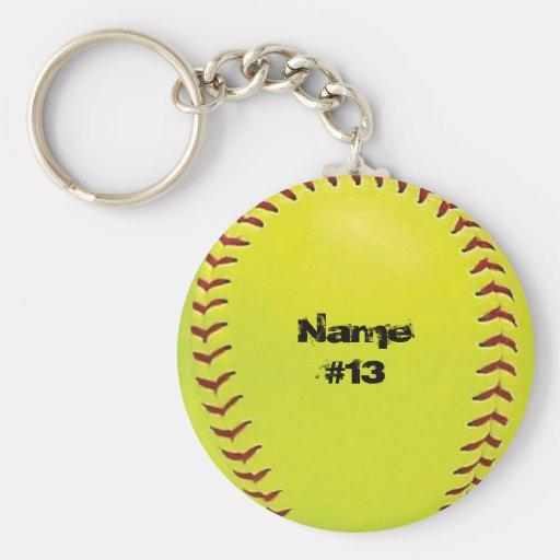 Fastpitch Softball Key Chain