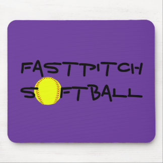 Fastpitch Softball Mouse Pad