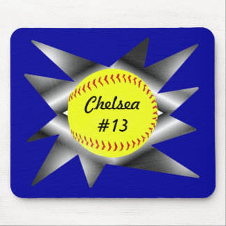 Fastpitch Softball Mousepad