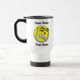 Fastpitch Softball Travel Mug