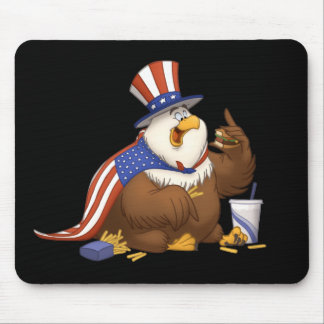 Fat American Eagle Mousepad