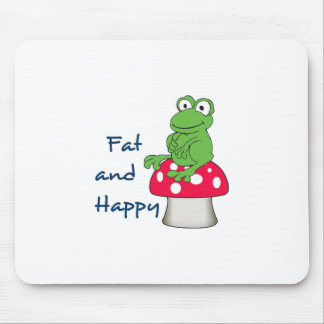 Fat And Happy Mouse Pad