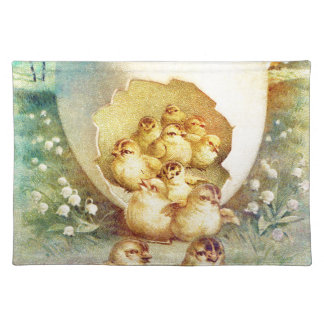FAT AND SASSY EASTER HATCHLINGS PLACEMAT
