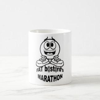 Fat b@st@rd$ Marathon: coffee cup