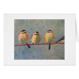 Fat Birds Card