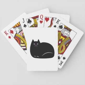 Fat Black Cat Poker Deck