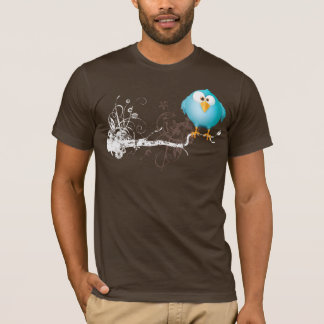 fat blue bird T-Shirt