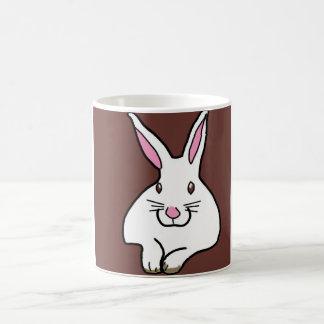 Fat Bunny Basic White Mug