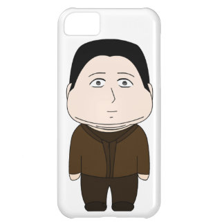 Fat Cartoon Character Cover For iPhone 5C