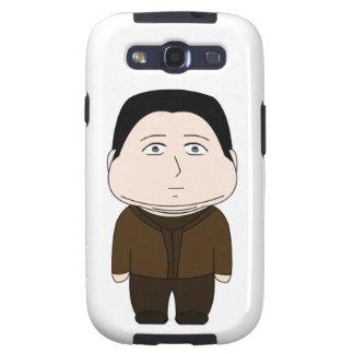 Fat Cartoon Character Samsung Galaxy SIII Cover