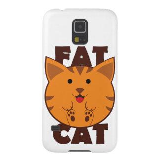Fat Cat Galaxy S5 Cases