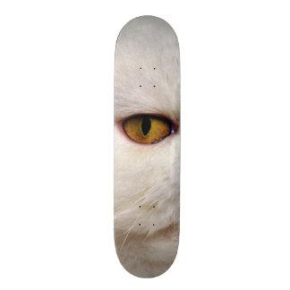 Fat Cat Evil Eye Custom Pro Park Board Skate Board Deck