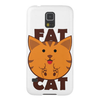 Fat Cat Galaxy S5 Cover