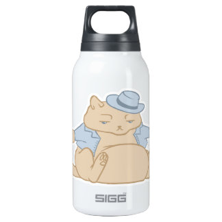 Fat Cat Little Coat 0.3 Litre Insulated SIGG Thermos Water Bottle
