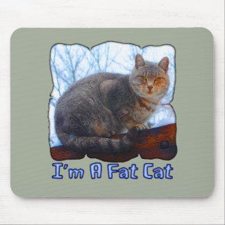 Fat Cat Mouse Pad