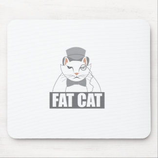 Fat Cat Mouse Pad