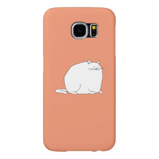 fat cat on a case samsung galaxy s6 cases