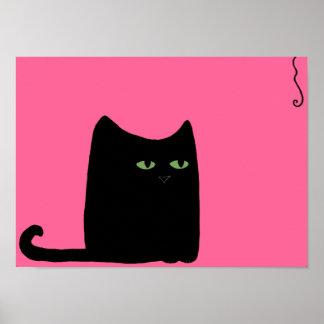 Fat Cat Print choose your color size