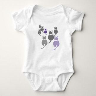 Fat Cats 2 Baby Bodysuit