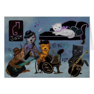 Fat Cats Jam Card