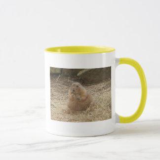Fat chubby prairie dog mug