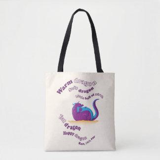 Fat Dragon Tote Bag