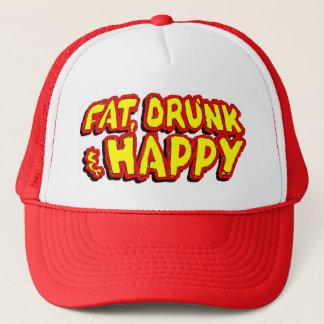 Fat, drunk & happy hat