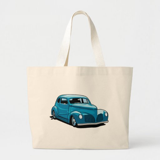 Fat Fendered Hot Rod Coupe Bag