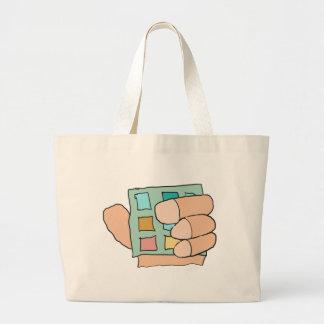 Fat Finger Jumbo Tote Bag