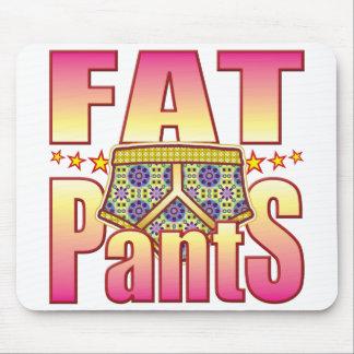 Fat Flowery Pants Mouse Mats