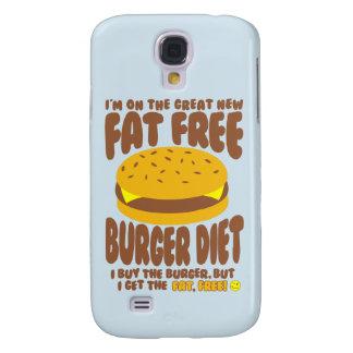 Fat Free Burger Diet Galaxy S4 Case