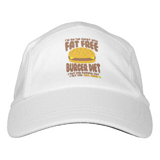 Fat Free Burger Diet Hat