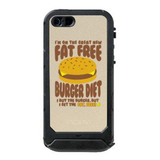 Fat Free Burger Diet Incipio ATLAS ID™ iPhone 5 Case