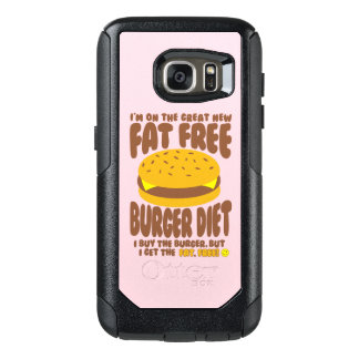 Fat Free Burger Diet OtterBox Samsung Galaxy S7 Case