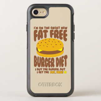 Fat Free Burger Diet OtterBox Symmetry iPhone 8/7 Case
