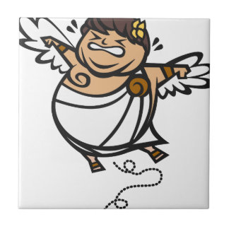 Fat Icarus Small Square Tile