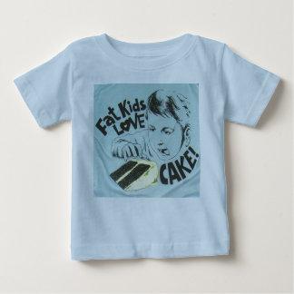 Fat Kids Love Cake Baby T-Shirt