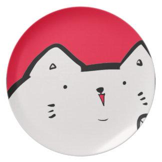 Fat Kitty Plates