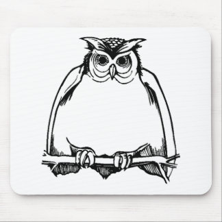 Fat Owl Mouse Pad