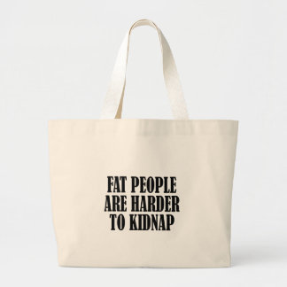 fat people tote bags